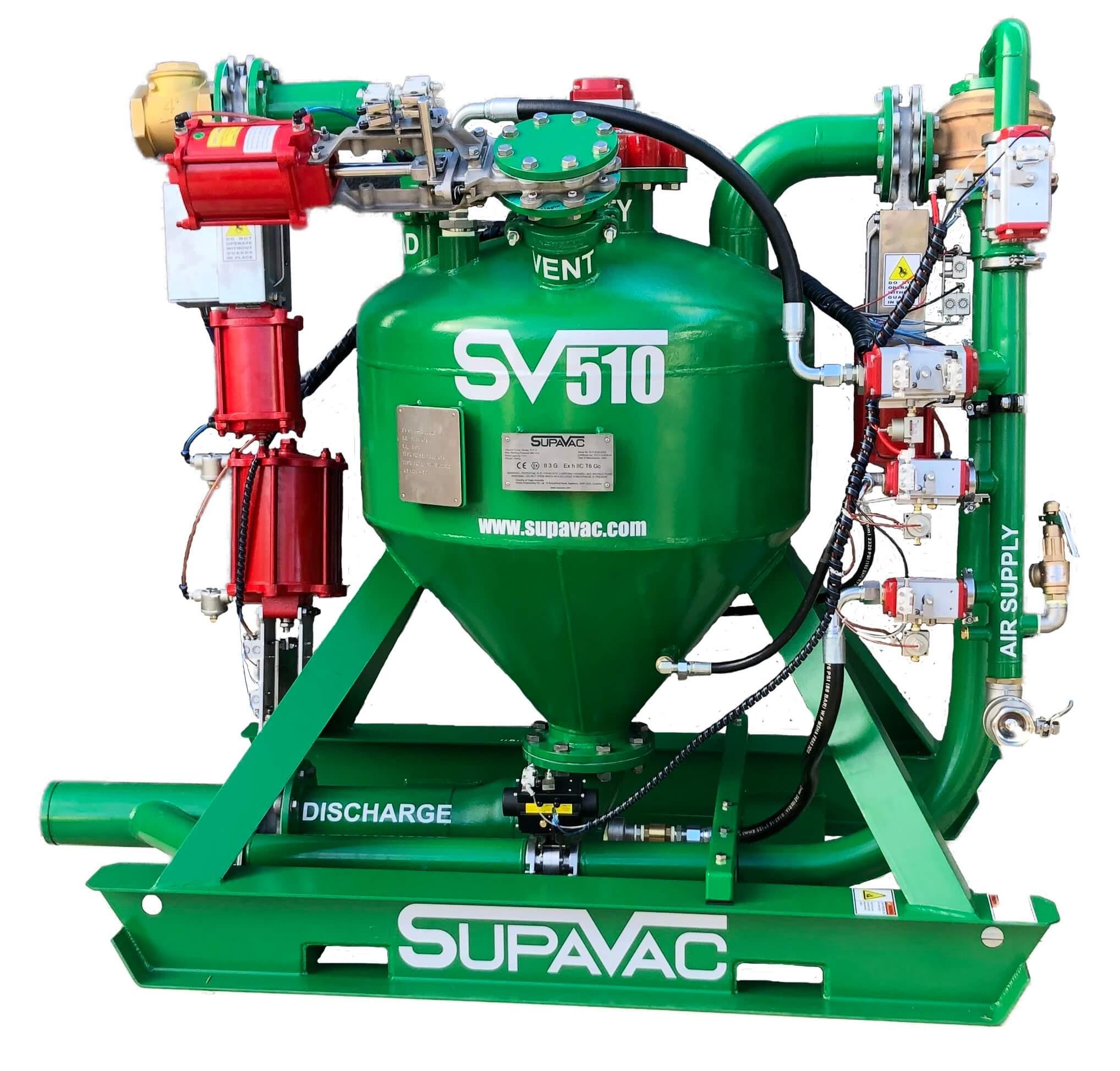 SUPAVAC Sv510 - Solid Pumps 2