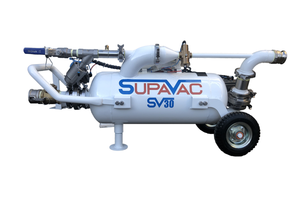 New SV30 Supavac Solids Pump