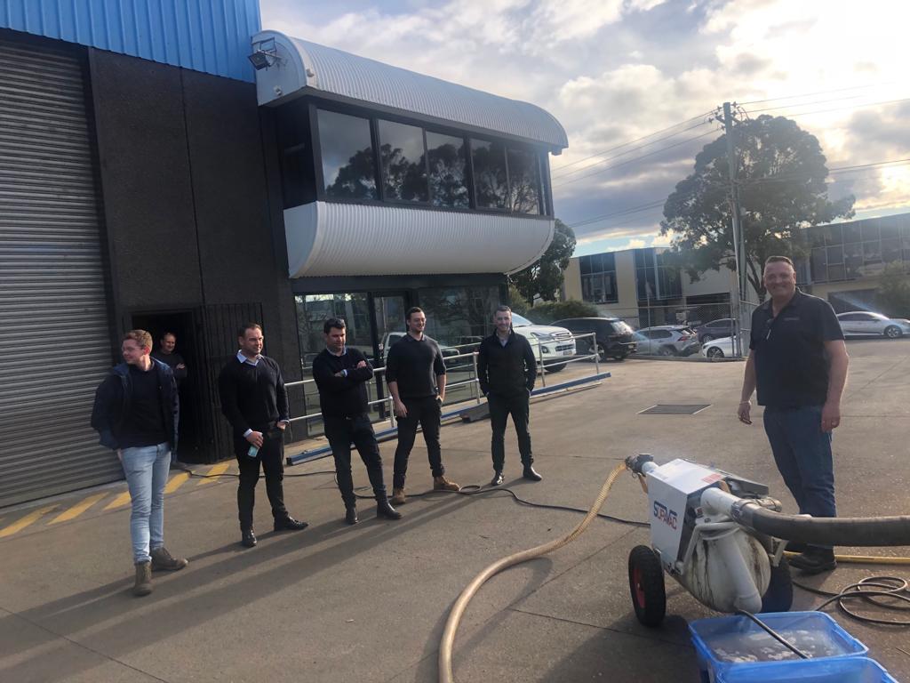 Condor Pumps to SupaVac Facility