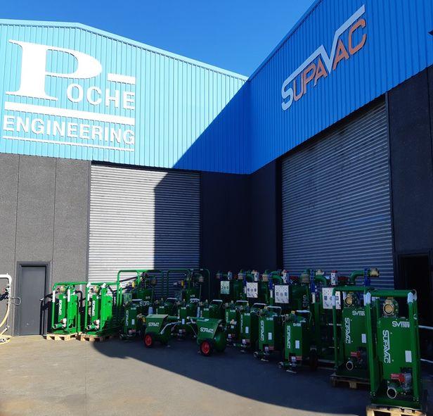 SupaVac Pumps Shipping