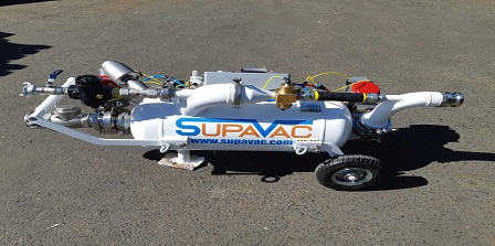 SupaVac - SV30 hot dogs banner